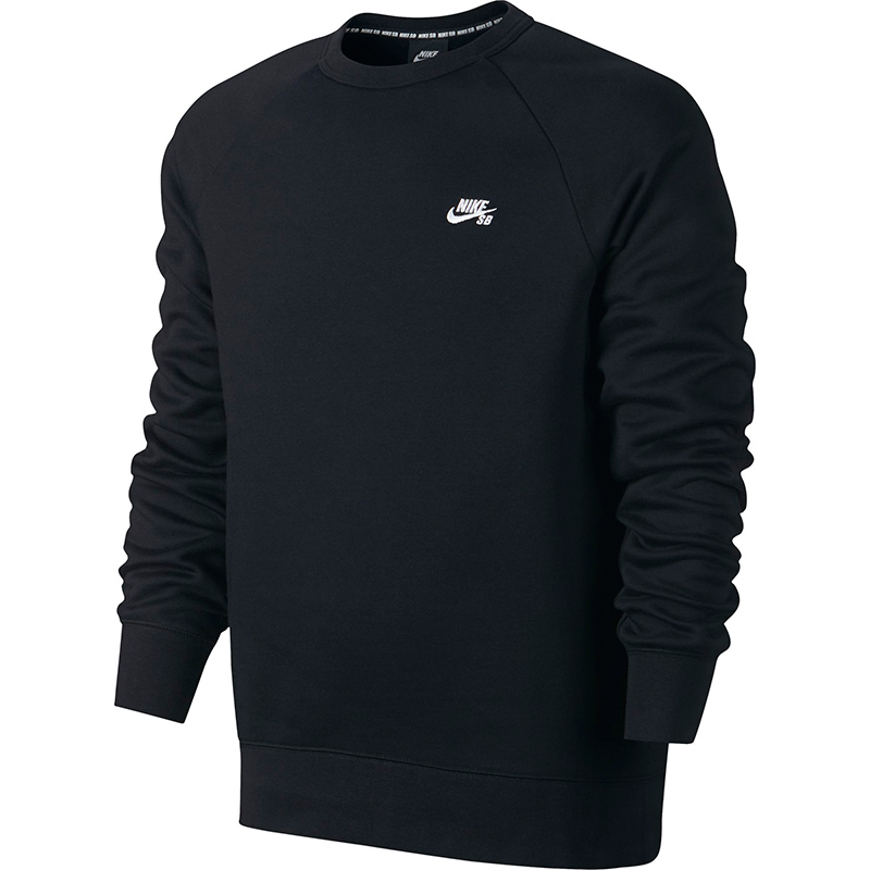 Nike SB Icon Crewneck Sweater Black/White