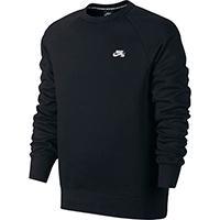 Nike SB Icon Crewneck Sweater Black/White