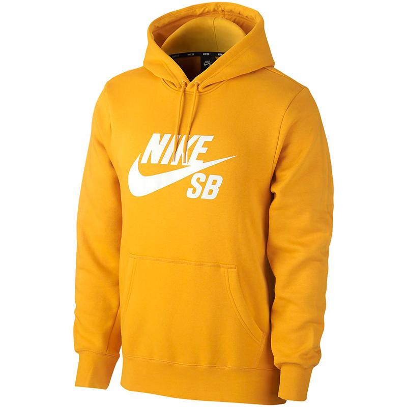 Nike SB Icon Essential Hoodie Ochre/White