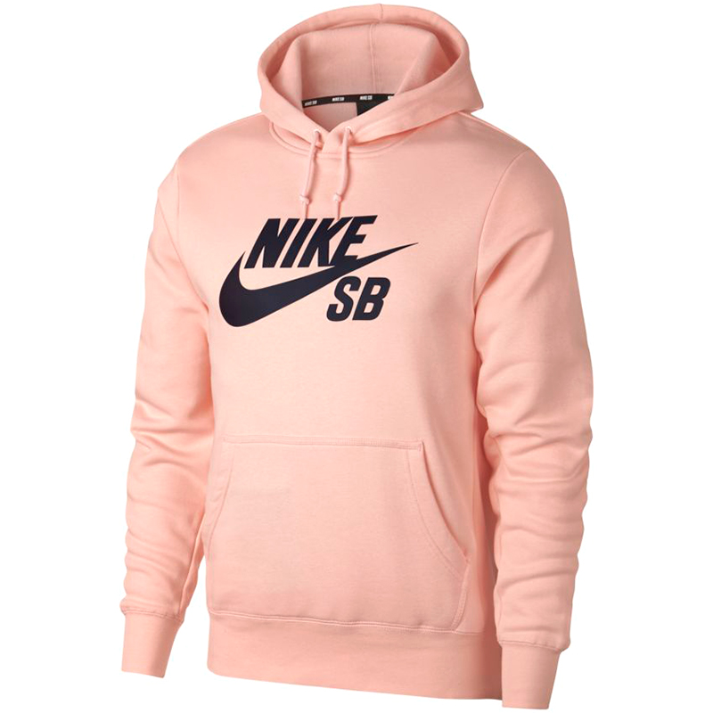Nike SB Icon Essential Hoodie Storm Pink/Obsidian