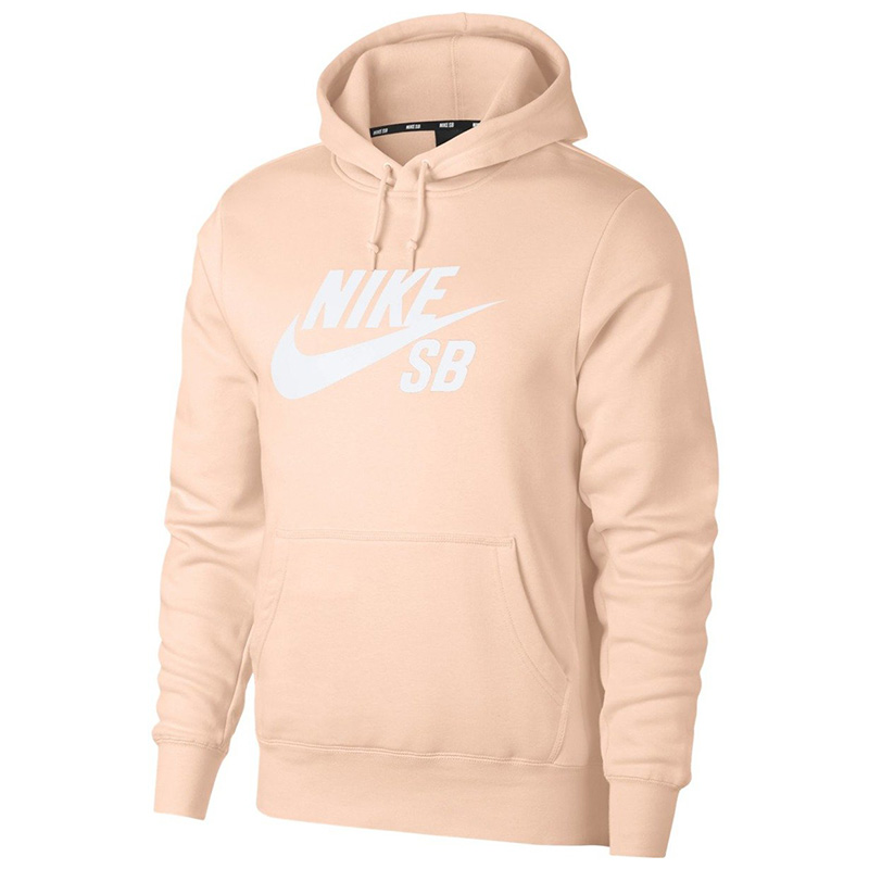 Nike SB Icon Essential Hoodie Washed Coral/White