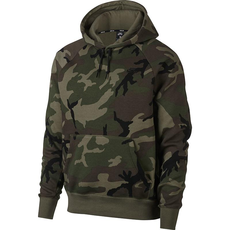 Nike SB Icon Hoodie Medium Olive/Black