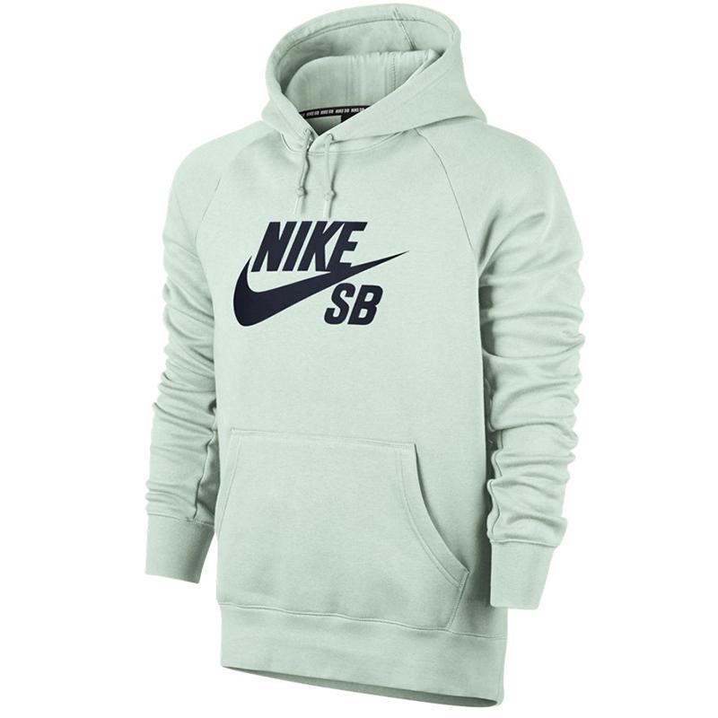 Nike SB Icon Po Hoodie Barely Green/Obsidian