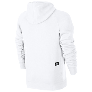 0d192638b2638c Nike SB Icon Pullover Hoodie White Hyper Royal. undefined. Loading zoom