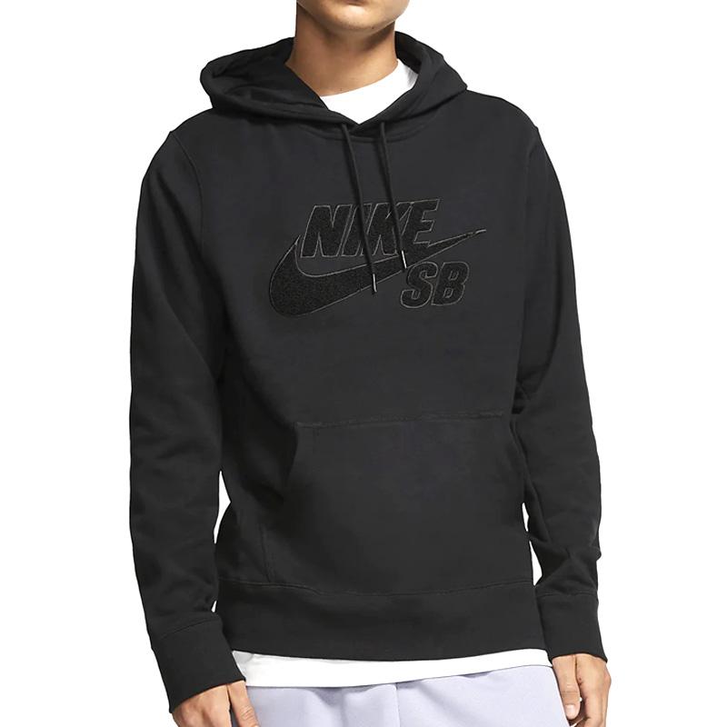 Nike SB Seasonal Hoodie Black/Black/Black