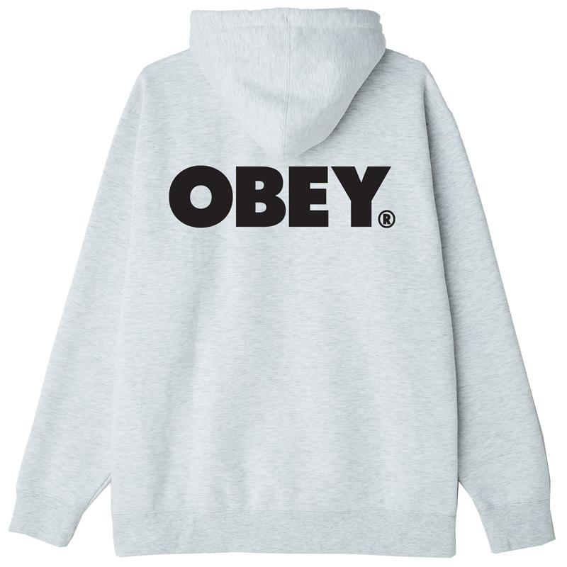 Obey Bold Hoodie Ash Grey