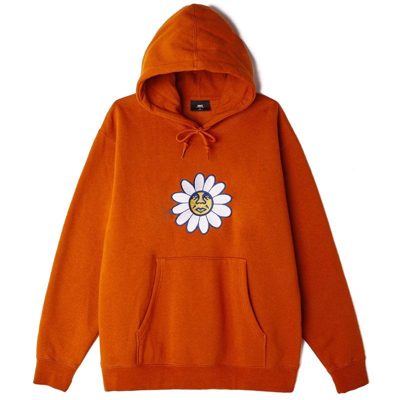 Obey Daisy Hoodie Pumpkin Spice