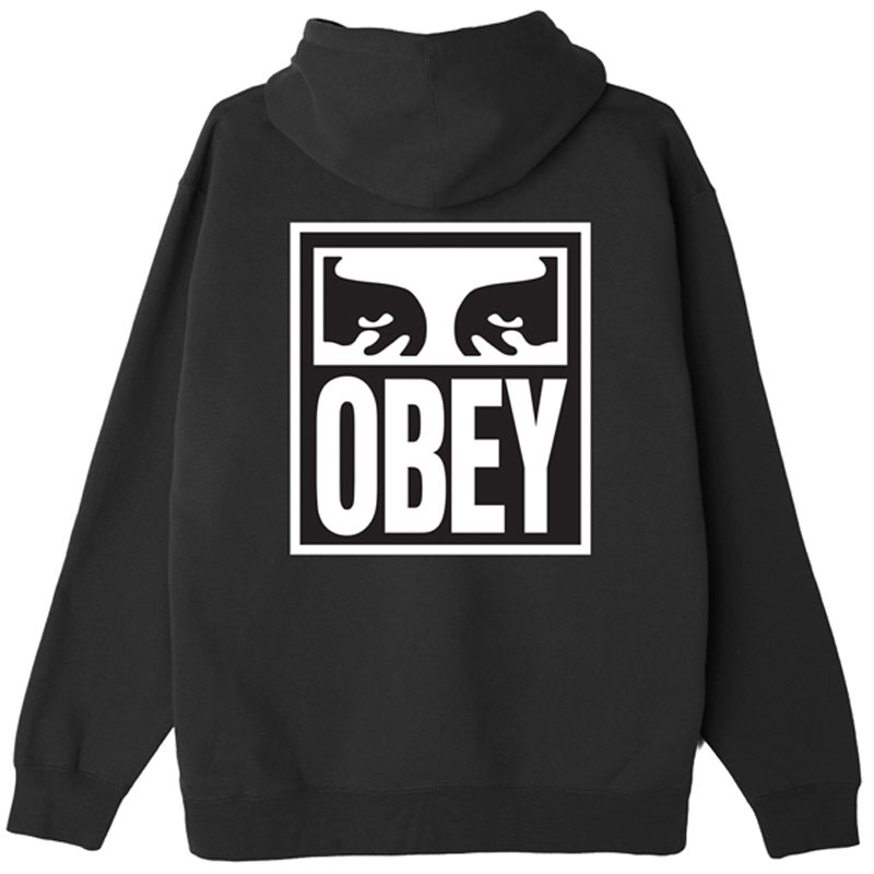 Obey Eyes Icon 2 Hoodie Black