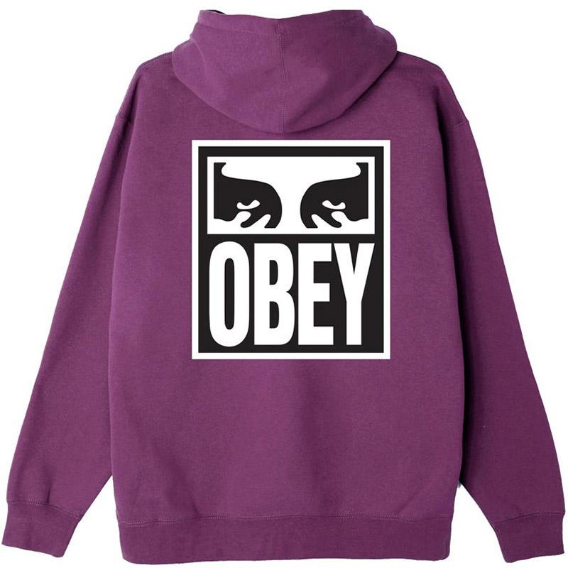 Obey Eyes Icon 2 Hoodie Purple Nitro