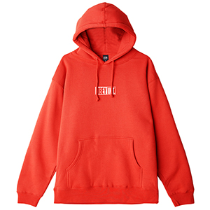 Obey Int. Icon Hoodie Red