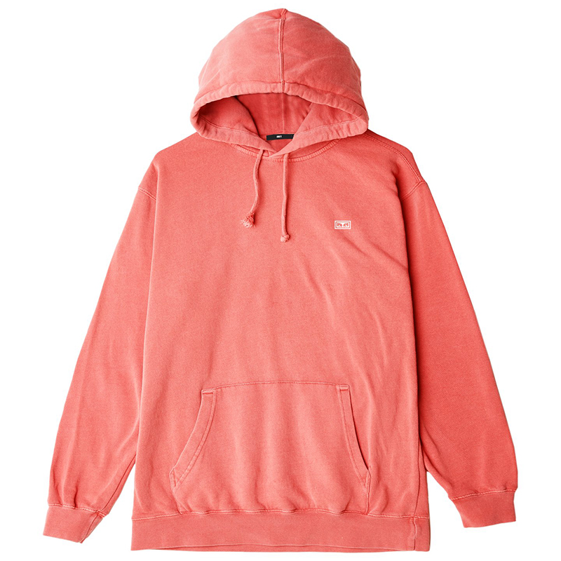 Obey Jumble Lo-Fi Hoodie Dusty Coral