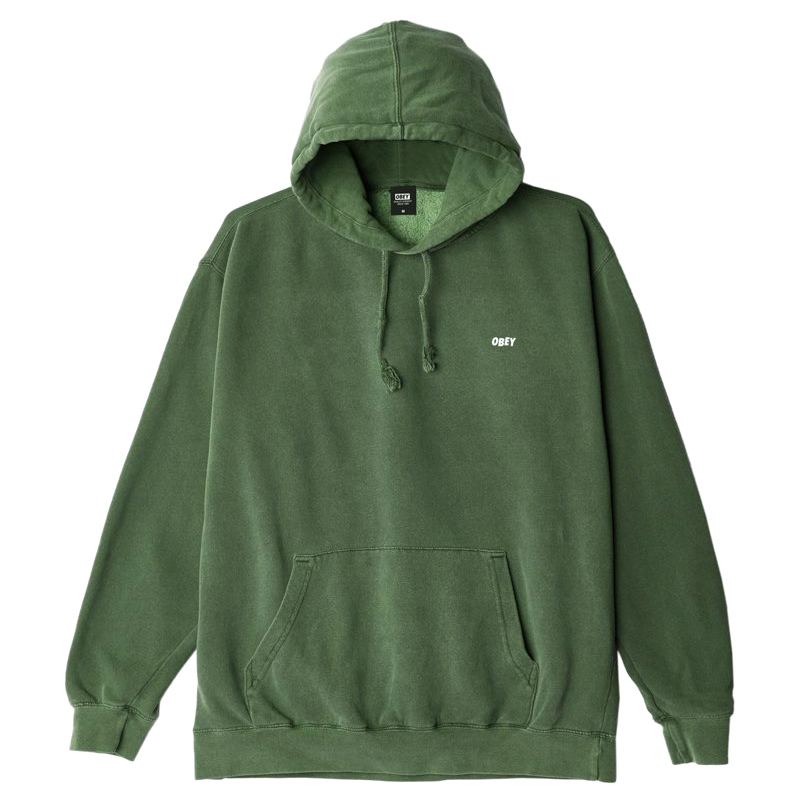Obey Jumble Lo-Fi Hoodie Dusty Forest