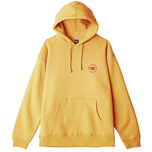 Obey Kiss Of Obey Hoodie Gold