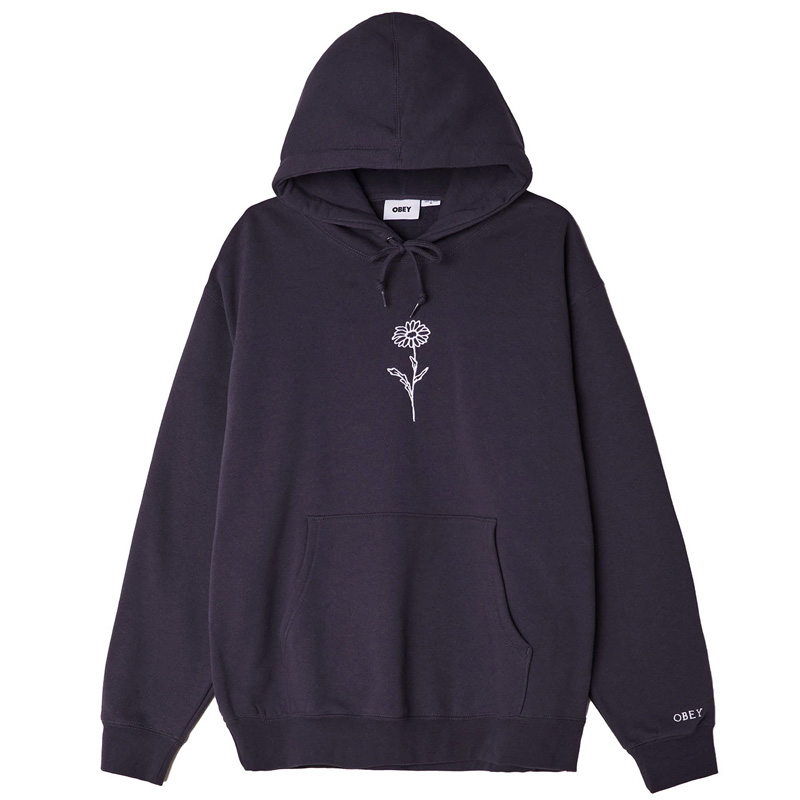 Obey New Growth Hoodie French Navy