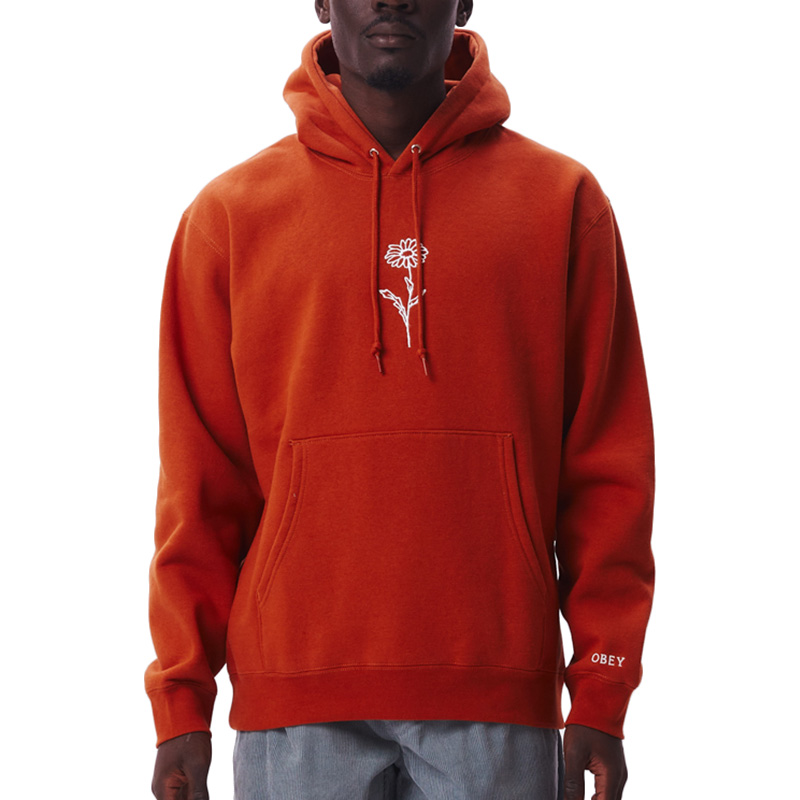 Obey New Growth Hoodie Ginger