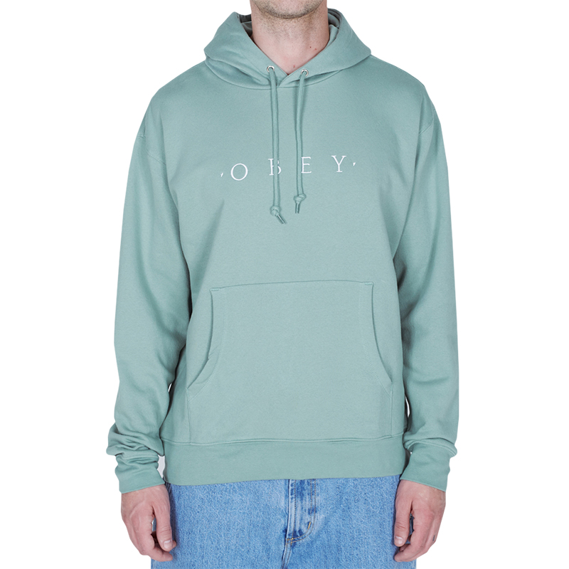 Obey Nouvelle Hoodie Light Sage