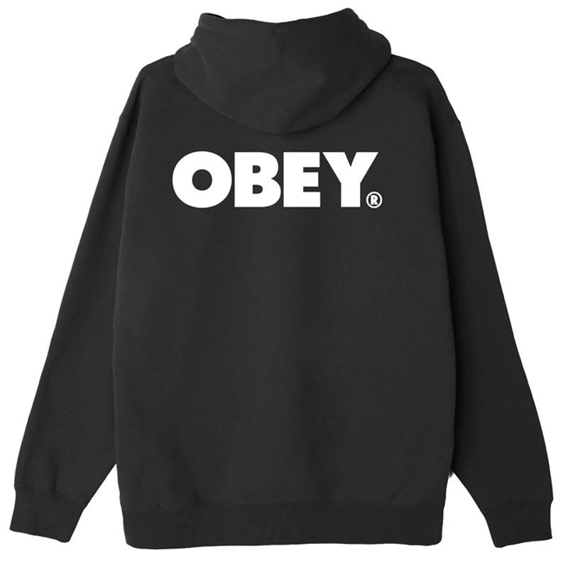 Obey Bold Hoodie Black