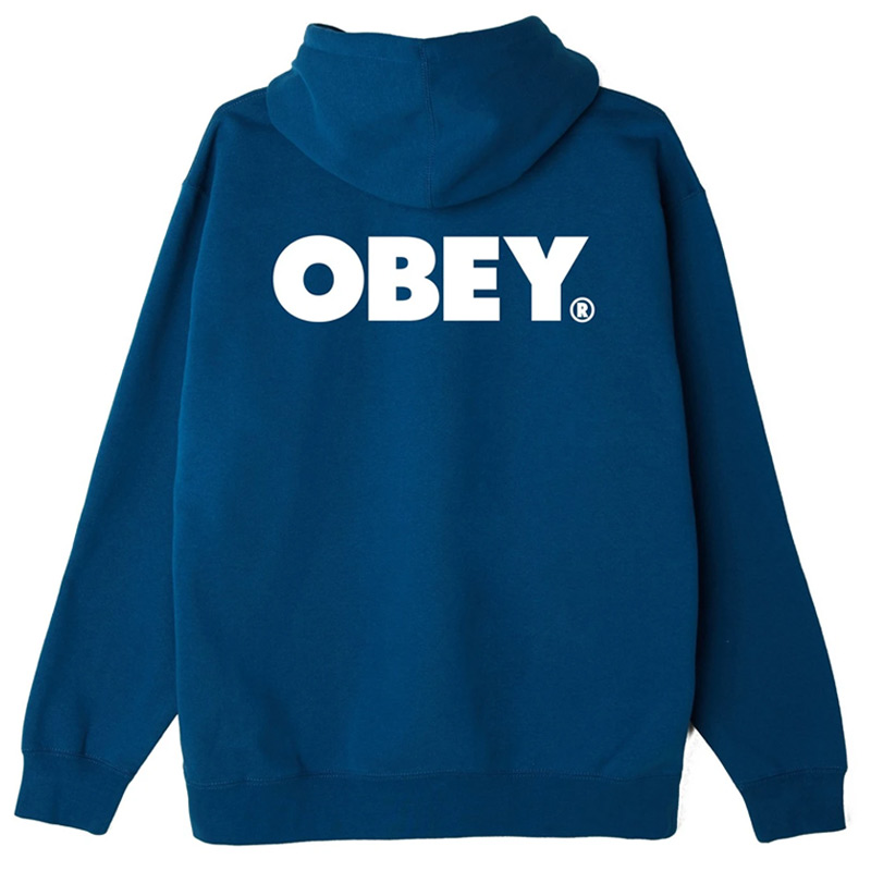 Obey Bold Hoodie Blue Sapphire