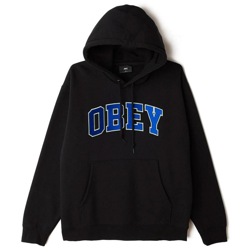 Obey Sports Hoodie Black