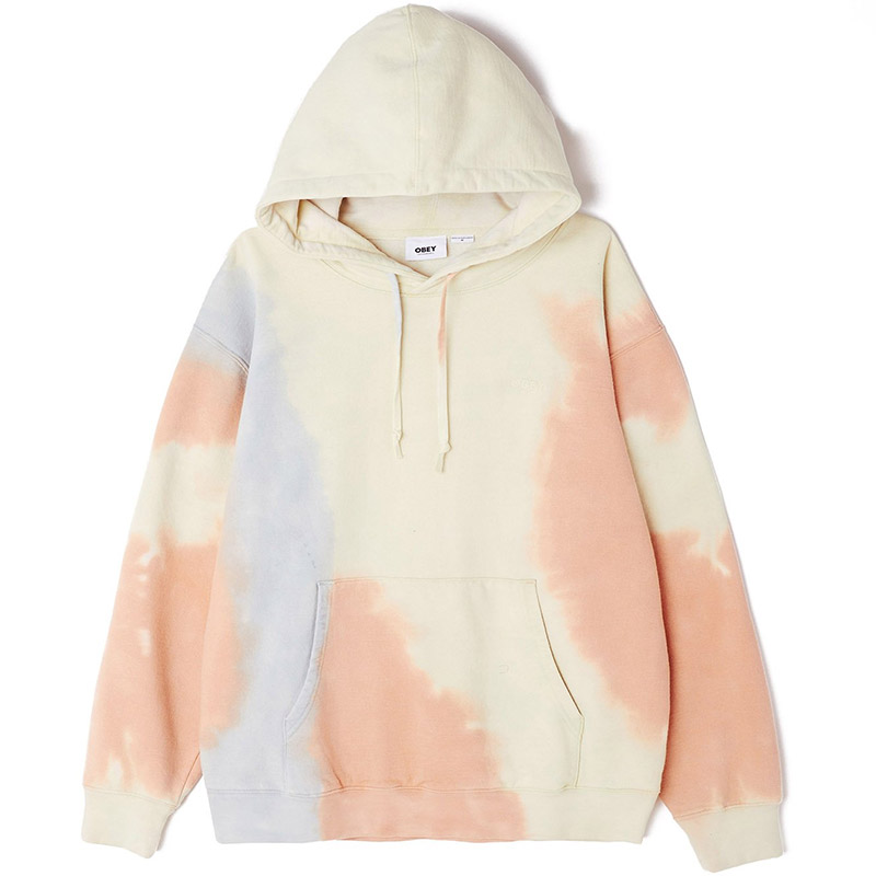 Obey Sustainable Tie Dye Fleece Pheasant Multi