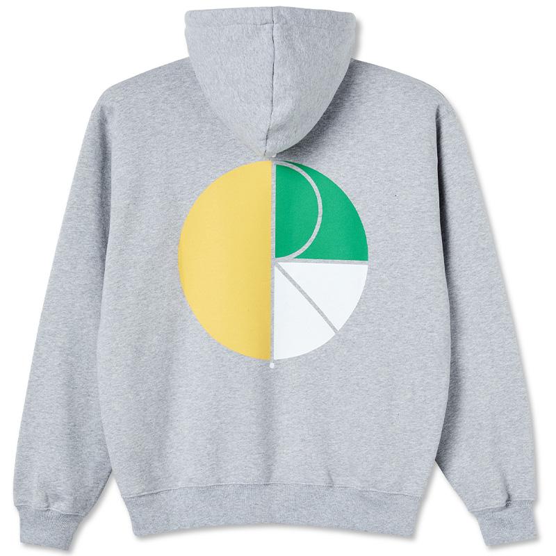 Polar 3 Tone Fill Logo Hoodie Sport Grey