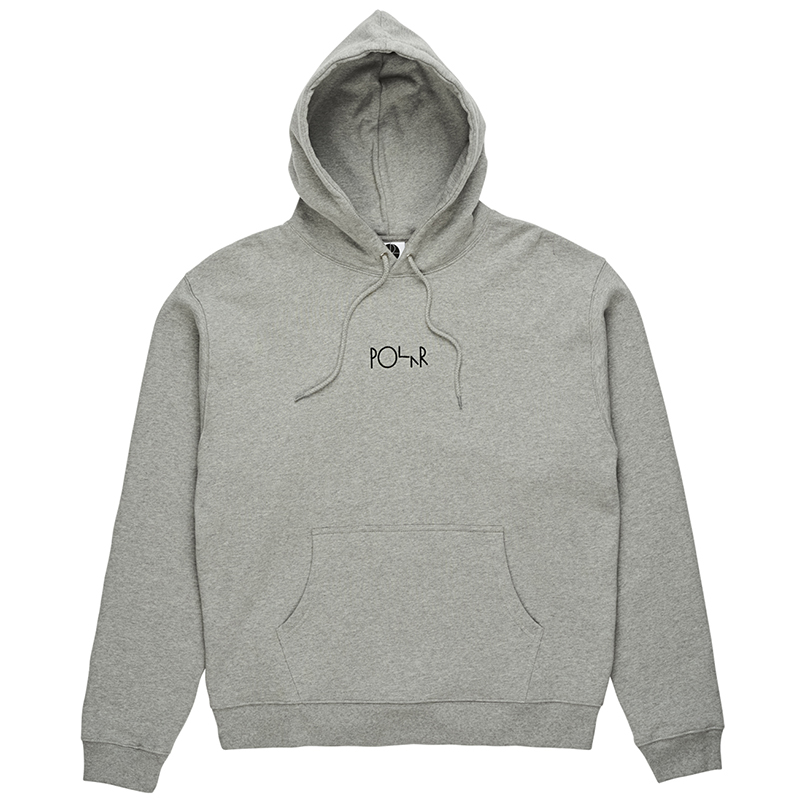 Polar American Fleece Hoodie Grey Heather
