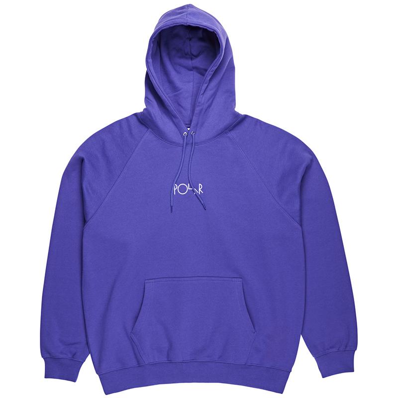 Polar Default Hoodie Deep Purple