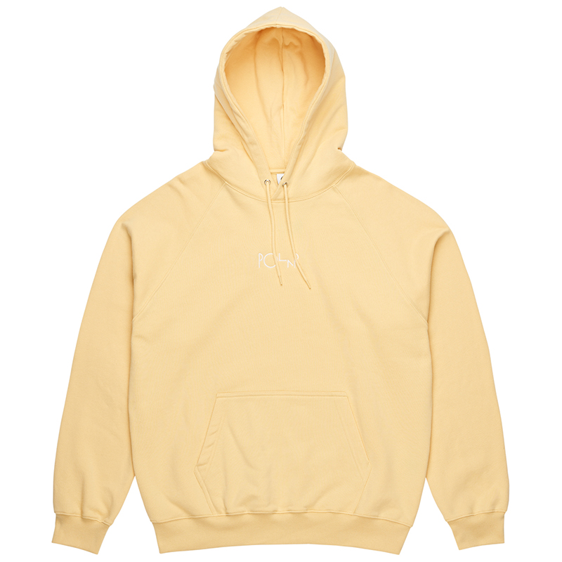 Polar Default Hoodie Light Yellow
