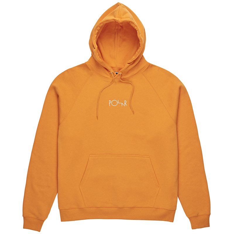 Polar Default Hoodie Orange