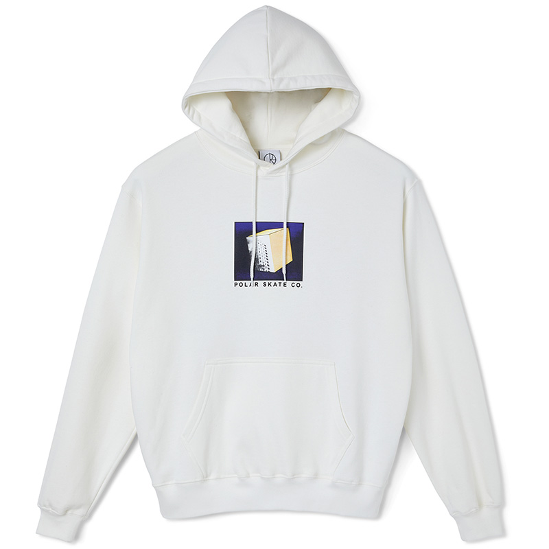 Polar Isolation Hoodie Cloud White