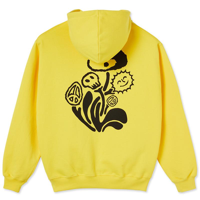 Polar Trippin' Hoodie Lemon