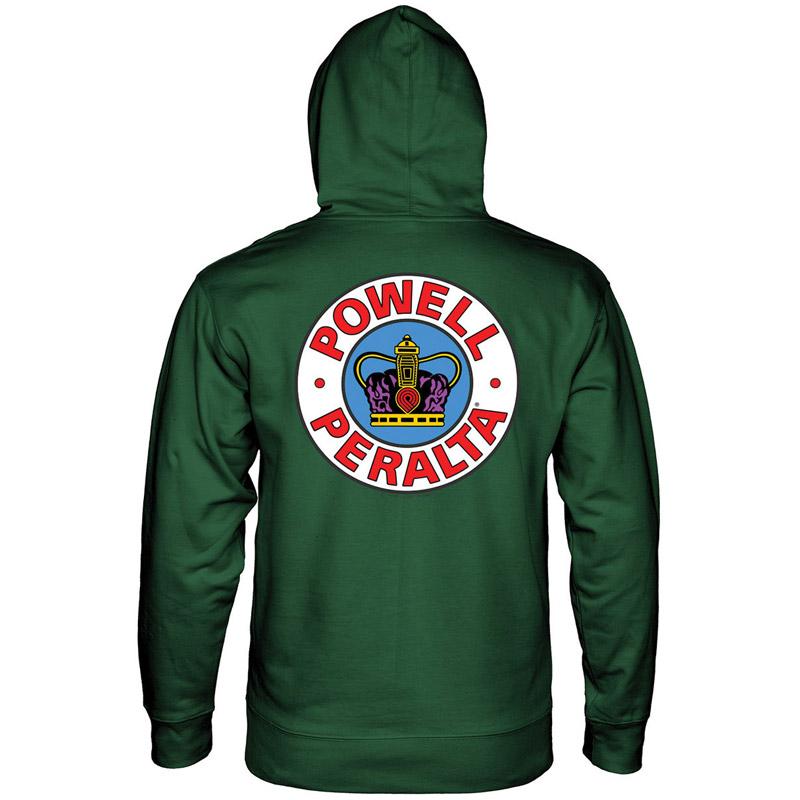 Powell Peralta Supreme Hoodie Alpine Green