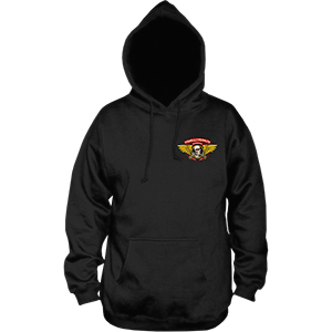 Powell-Peralta Winged Ripper Medium Weight Hoodie Black