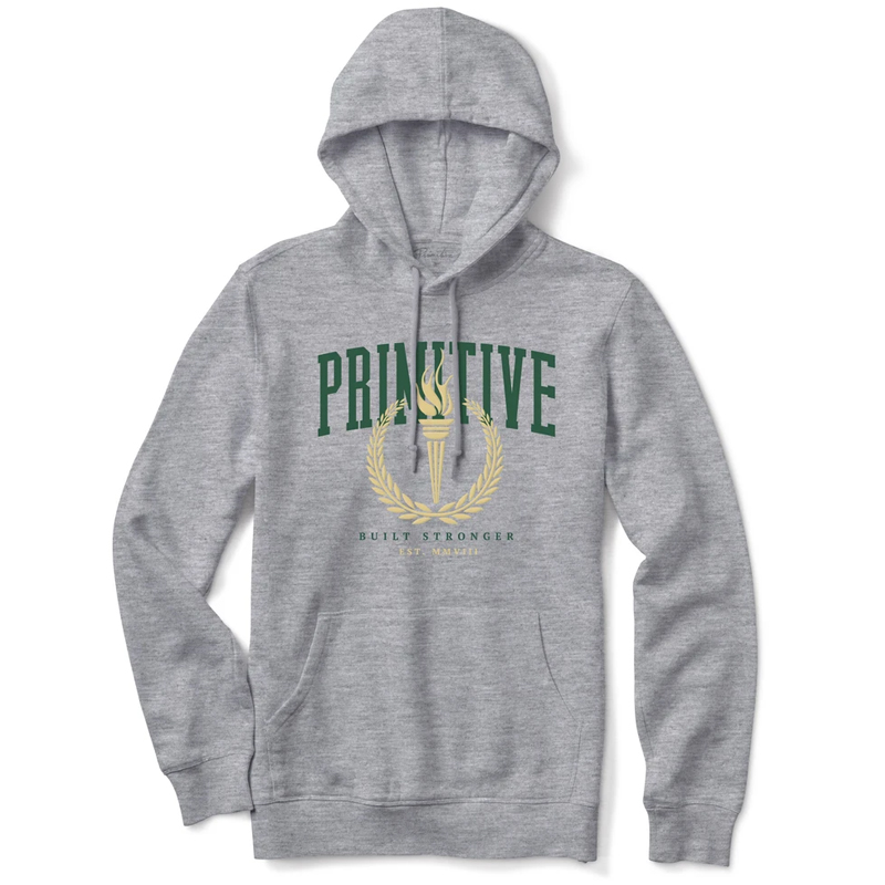 Primitive Athens Hoodie Athletic Heather