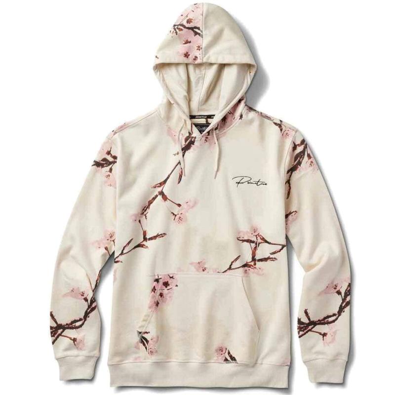 Primitive Blossom Hoodie Cream