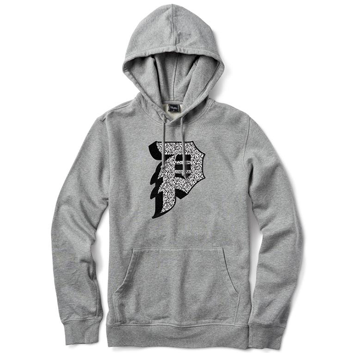 Primitive Dirty P Static Hoodie Athletic Heather