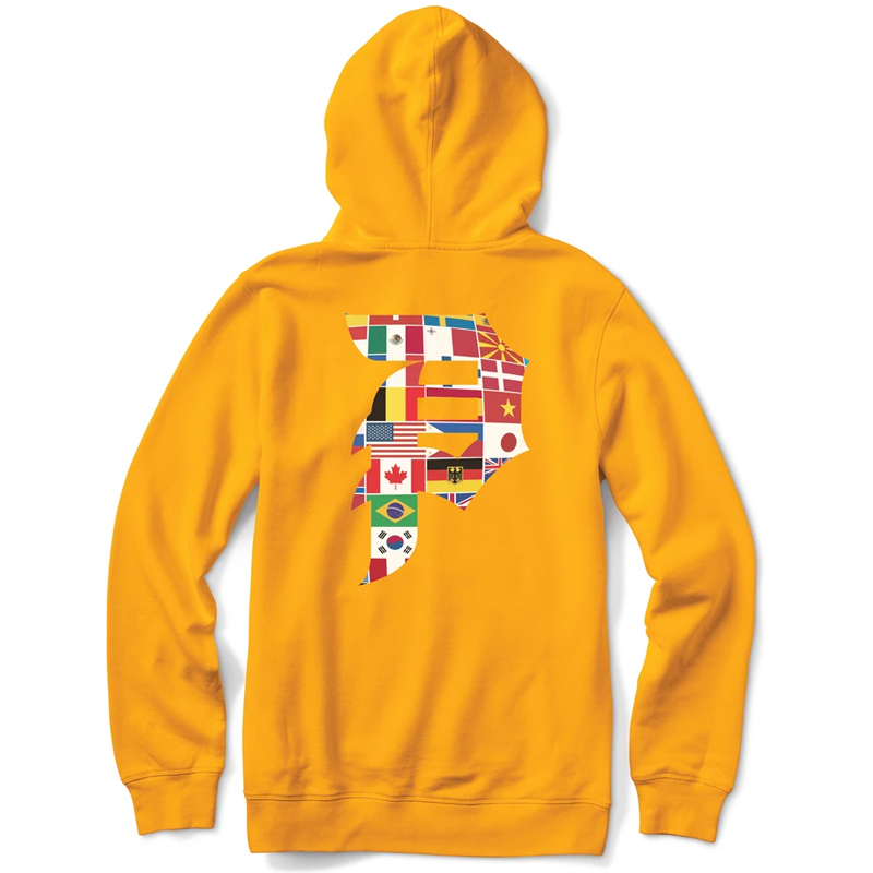 Primitive Dirty P Union Hoodie Gold