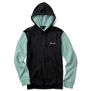 Primitive Port Hoodie Black Mint