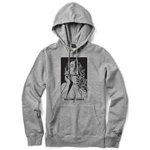 Primitive Sabine Hoodie Grey Heather