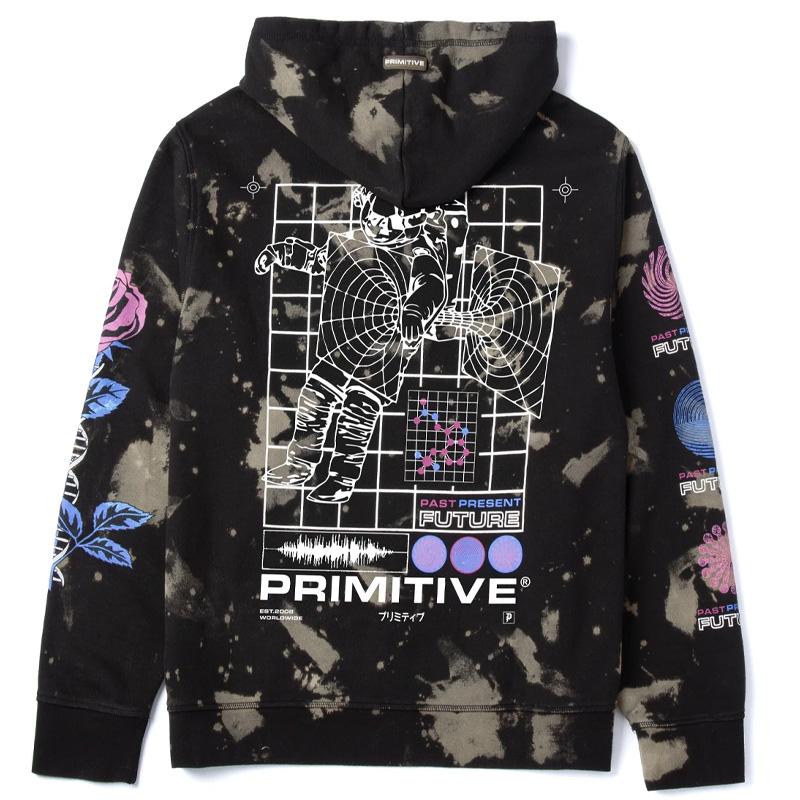 Primitive Spaced Hoodie Black