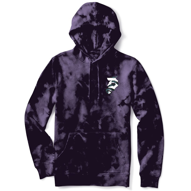 Primitive World Tour Tie-Dye Hoodie Purple