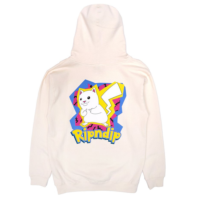 RIPNDIP Catch Em All Hoodie Tan