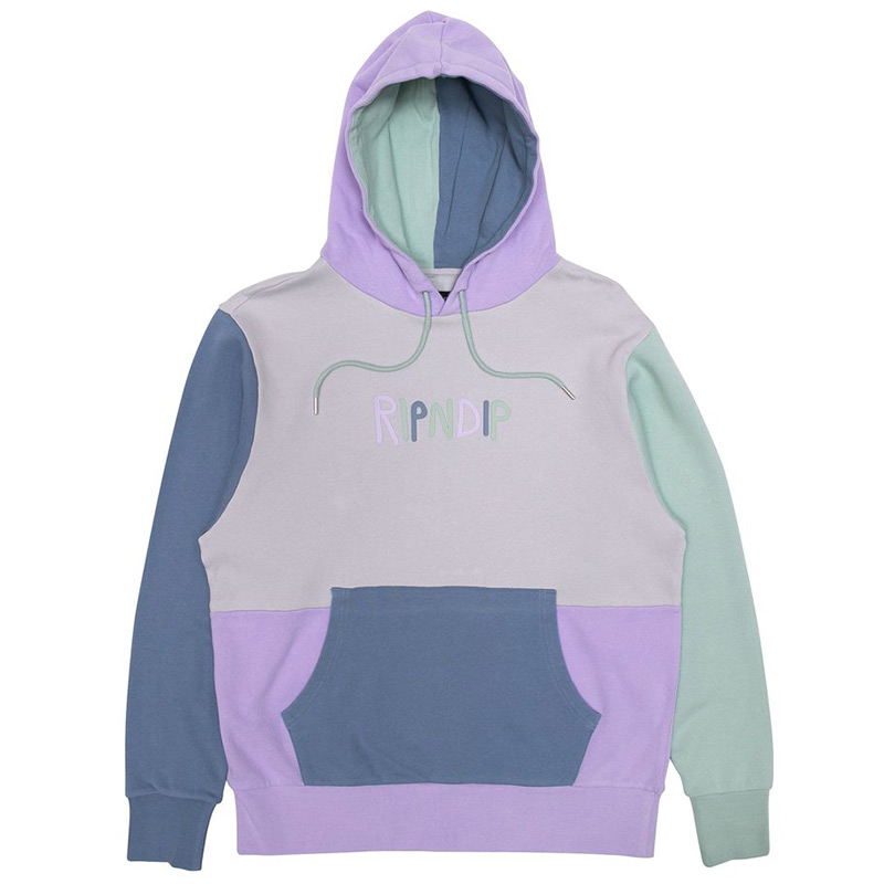 RIPNDIP Multi Colored Logo Hoodie Multi