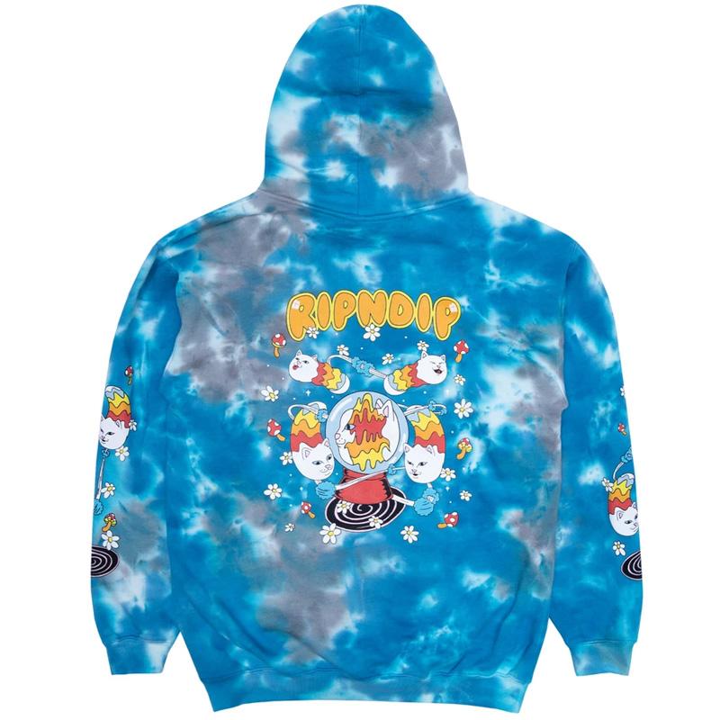 RIPNDIP Space Gravy Hoodie Baby Blue Cloud Wash