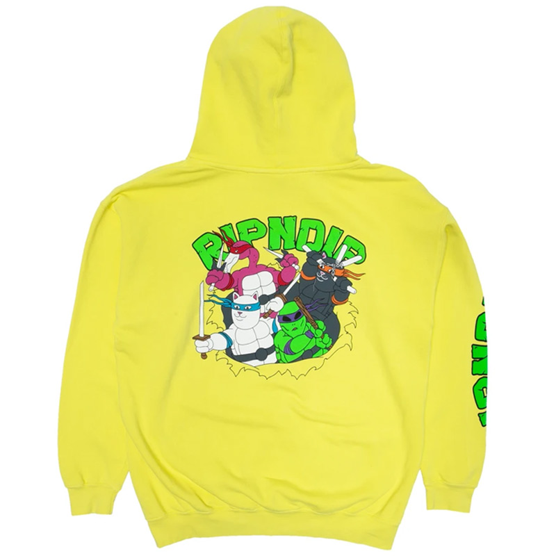 RIPNDIP Teenage Mutant Hoodie Neon Green