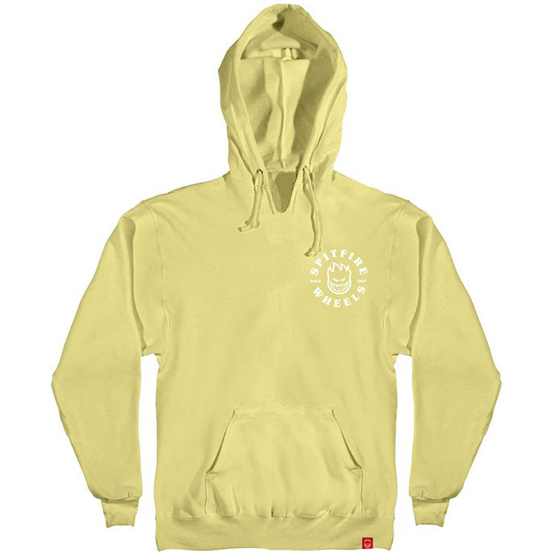 Spitfire Bighead Classic Hoodie Lt. Yellow /White