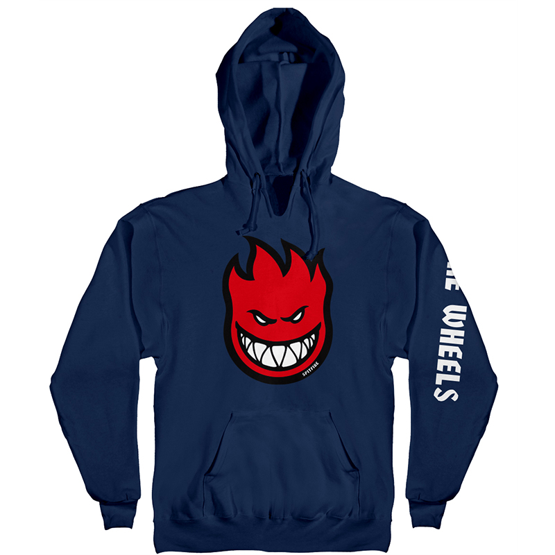 Spitfire Bighead Fill Hombre Hoodie Navy/Red/White