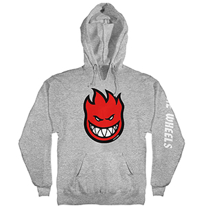 Spitfire Bighead Fill Hoodie Athletic Heather