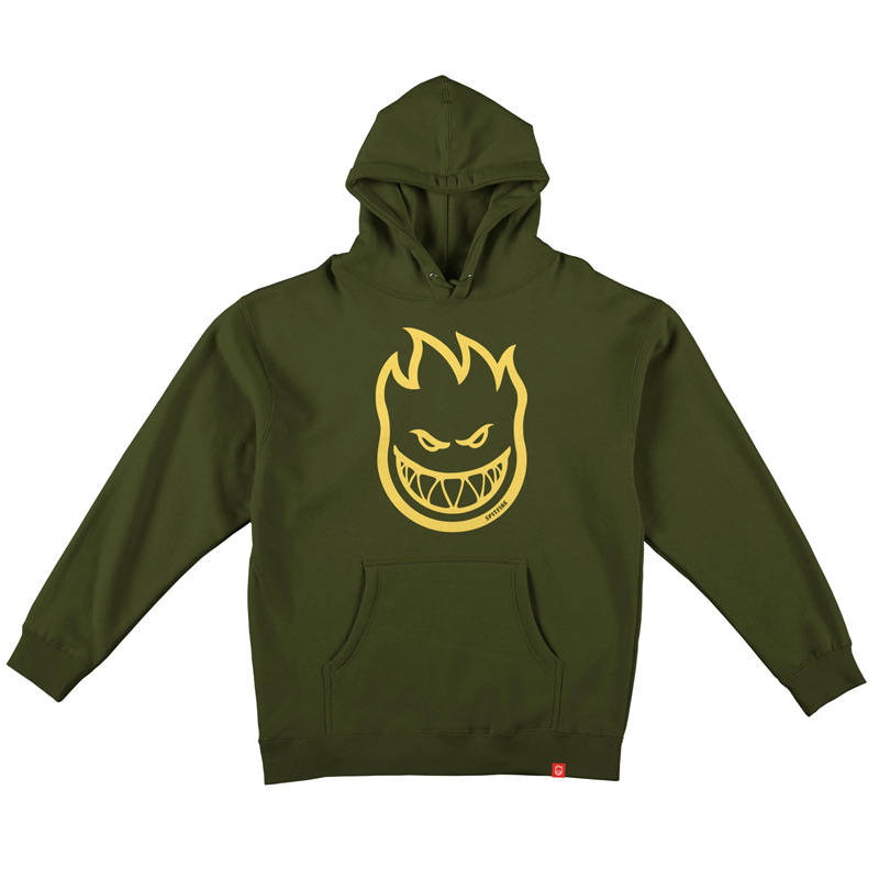 Spitfire Bighead Youth Hoodie Alpine Green