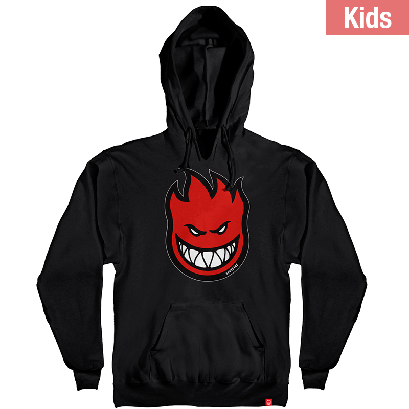 Spitfire Kids Bighead Fill Hoodie Black/Red